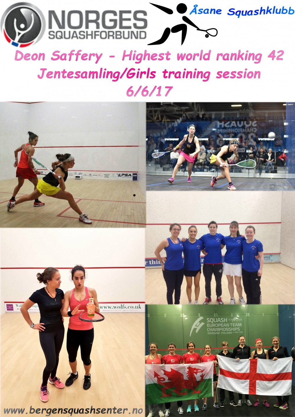 Deon Saffery – Jentesamling/Girls training session